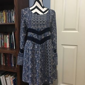 Maurice's Bell Sleeves Boho Dress